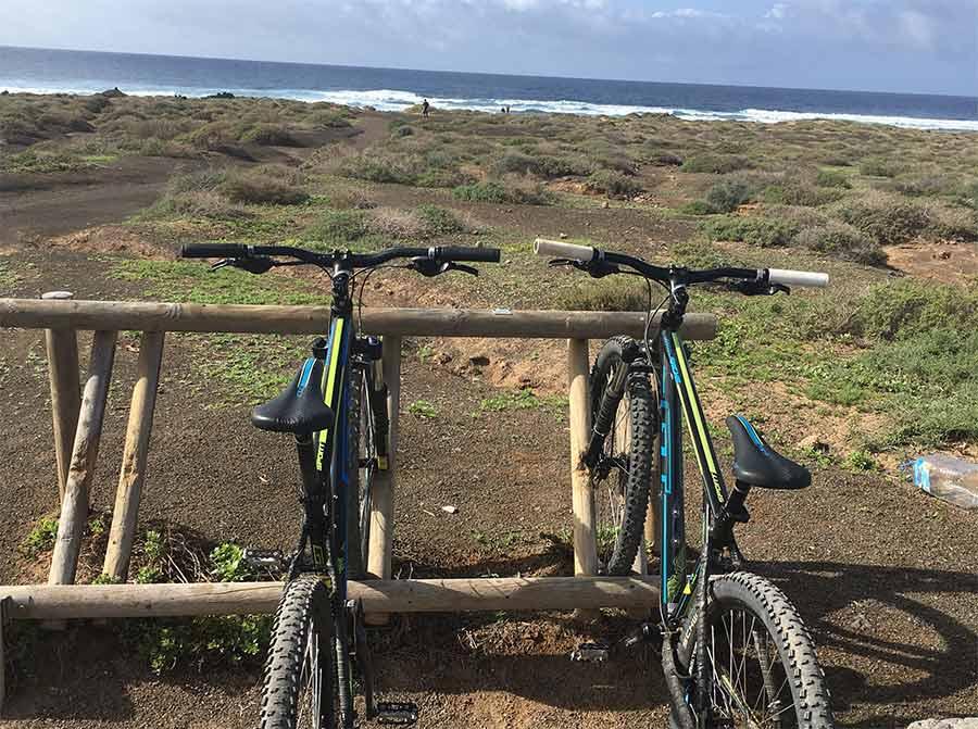 Alquilar bicicletas en La Graciosa