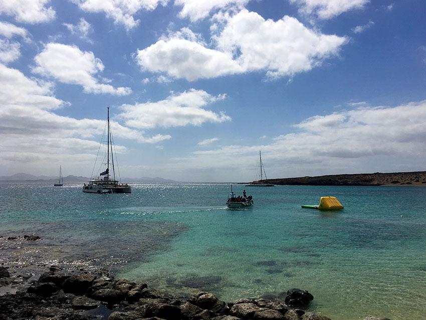 Excursión marítima en La Graciosa