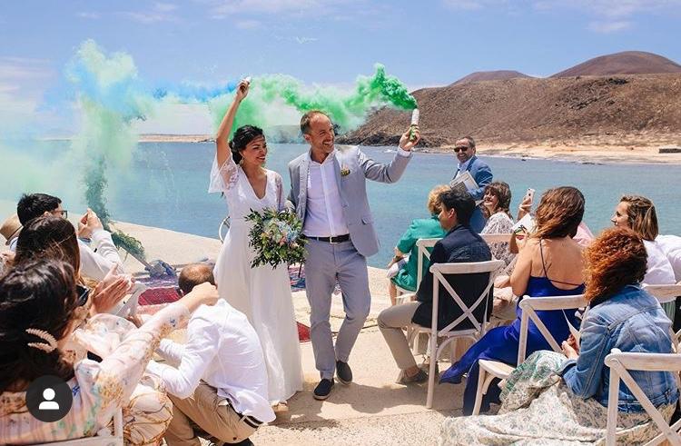 boda en la graciosa