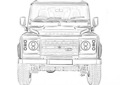 Dibujo-Taxi-Jeep-La-Graciosa