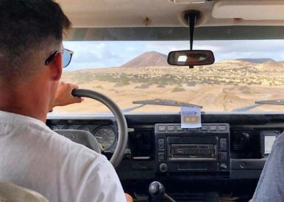 Taxi-Jeep- Aaron- la-Graciosa