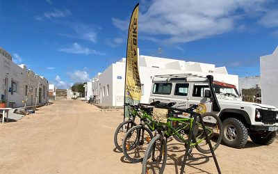 How to get around La Graciosa