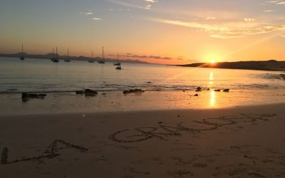Where to see the Sunset in La Graciosa