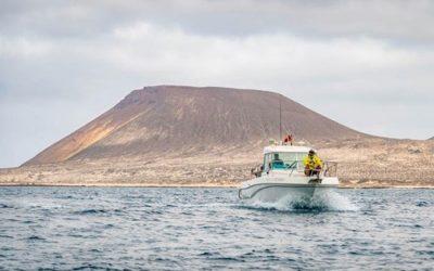 Vuelta a nado isla de La Graciosa